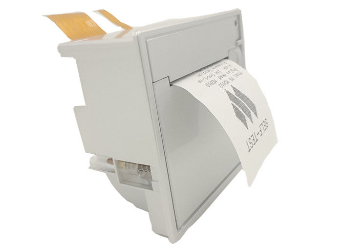 Front Open Fast Speed Panel Mount Printers , Mobile Thermal Printer For Mrocontrollers