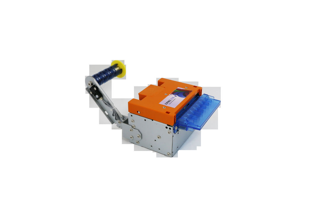Adjustable Printing Width Thermal Transfer Label Printer Payment Kiosk With Auto Cutter